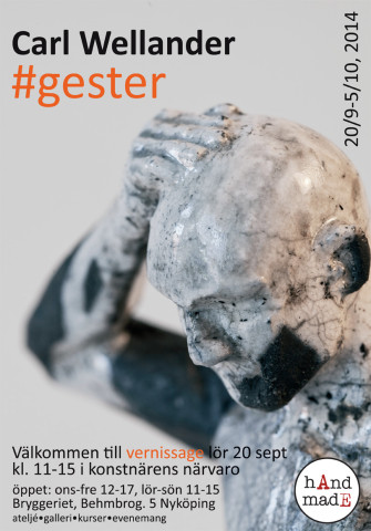 Exhibition poster #gester